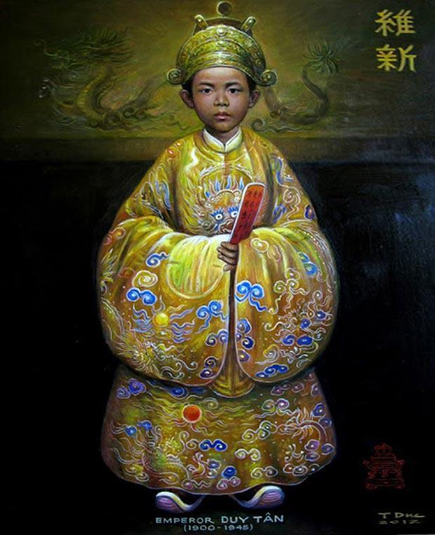 Chân dung các vị vua triều Nguyễn