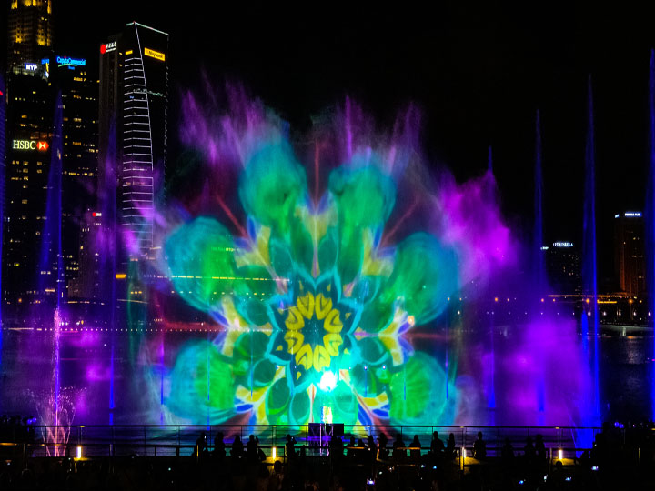 Spectra Light & Water Show
